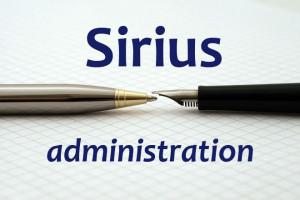 Sirius Administration
