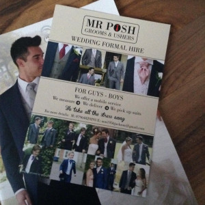 Mr Posh Wedding Formal Hire