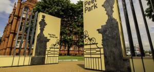 Peel Park Salford