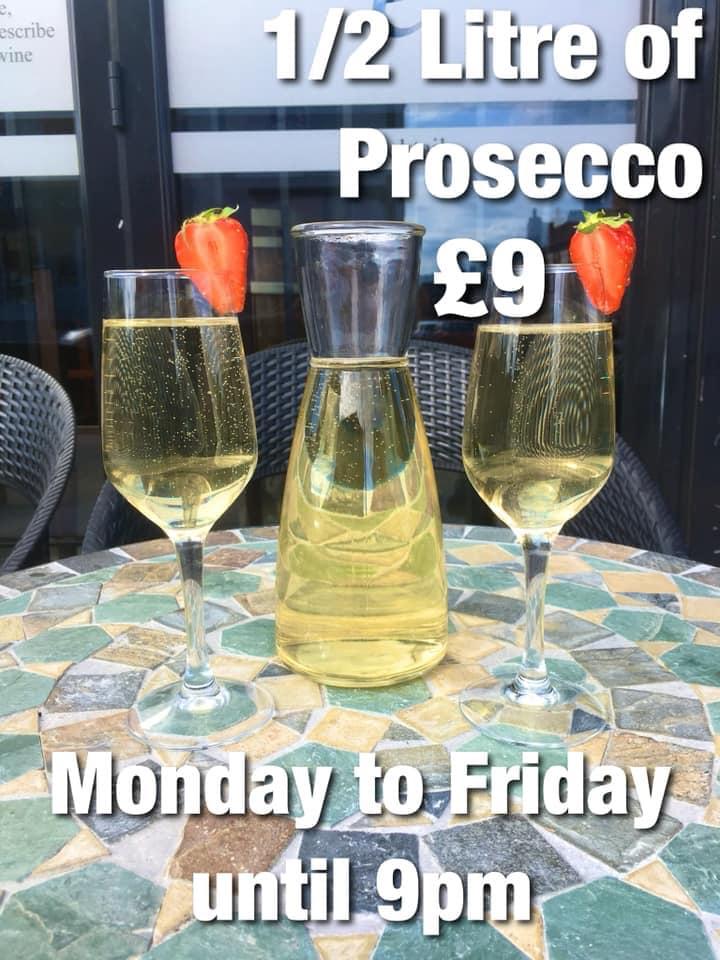 Prosecco just £9